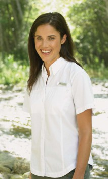 B334 Flamingo Bay Ladies Poplin Shirts