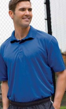 B487 Performance Wicking Polo Mens