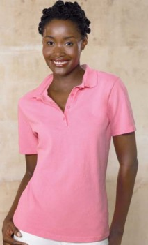 B499 Pique 7oz Polo Ladies