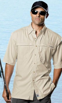 B429 Peninsula Short Sleeve Performance Fishing Shirts