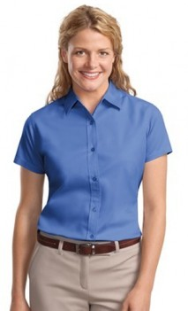 B456 Easy Care Twill Short Sleeve Womens