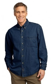 B458 Denim Long Sleeve Mens