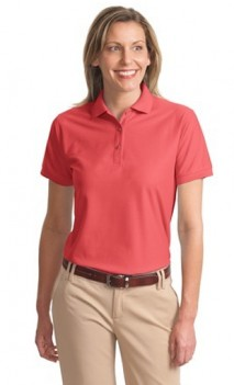 B468 Silk Touch Pique 65/35 Polo Womens