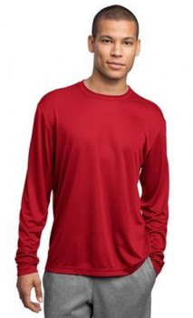 B476 Sport Tek Wicking Long Sleeve T-Shirts