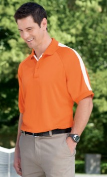 B637 Men's Dri-Fast™ Advantage™ Colorblock Mesh Polos