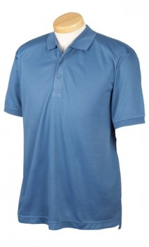 B639 Men's Dri-Fast™ Advantage™ Solid Mesh Polo