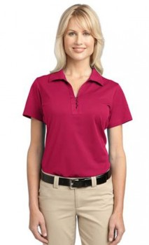 B655 Ladies Tech Pique Polos