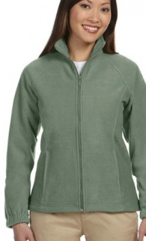 B672 Ladies' Full-Zip Fleece