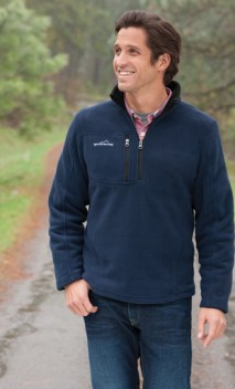 B715 1/4 Zip Fleece Pullover