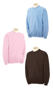 B185 80/20 Heavyweight Crewneck Sweatshirts