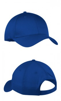 B683 Six panel Twill Cap with Hook loop closure