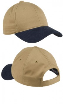 B238 Two-Tone Brushed Twill Caps