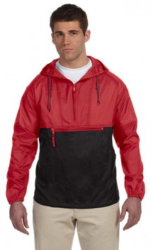 B854 Packable Nylon Unlined Hooded Jacket