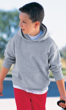 B176 50/50 Hooded Pullover Sweatshirt