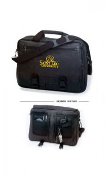 B711 Leatherette Expandable Briefcases