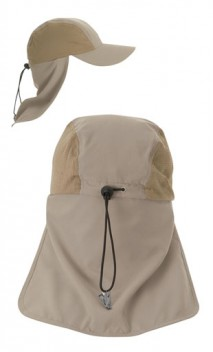 B228 Fishing Cap with Foldable Necks