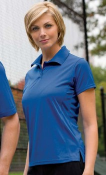 B488 Performance Wicking Polo Womens