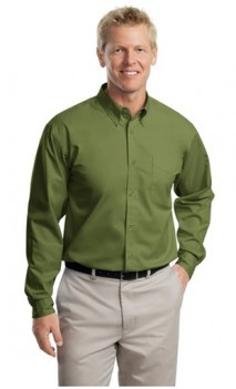 long sleeve twill for teachers in Ladies and mens