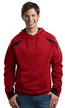B482 Color Spliced Pullover Hooded Sweatshirts