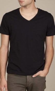 B592 Men's Basic V-Necks
