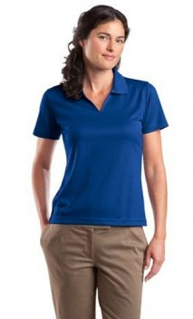 B657 Ladies Dri-Mesh V-Neck Polo