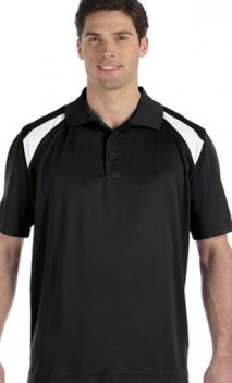B653 4 oz. Polytech Colorblock Polo