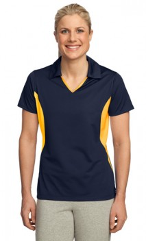 B662 Ladies Side Blocked Micropique Sport-Wick Polos