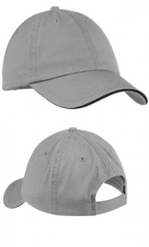 B239 Washed Twill Sandwich Bill Cap