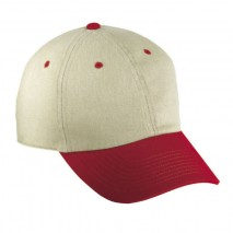 B209 Brushed Twill Structured Caps