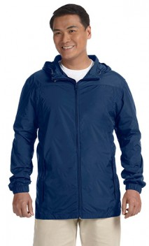 B853 Nylon Rainwear Hooded Jacket