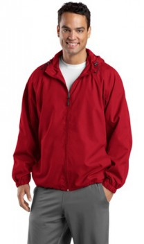 B855 Hooded Raglan Polyester Jackets