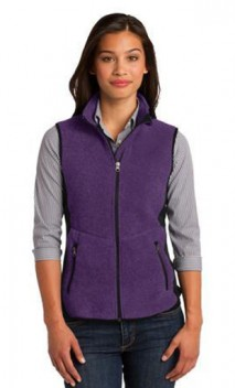 B887 Ladies R-Tek Pro Fleece Full-Zip Vest