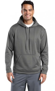 B918 Sport-Wick Fleece Hooded Pullover Sweatshirts