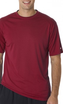 B932 Wicking Mens Short Sleeve T-Shirts